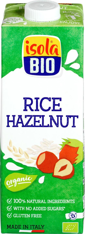 Biologische Isola Bio Rijst-hazelnoot drink 1 L