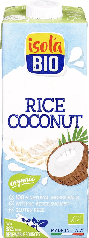 Biologische Isola Bio Rijst kokosdrank 1 L
