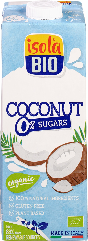 Biologische Isola Bio Kokosdrank suikervrij 1 L