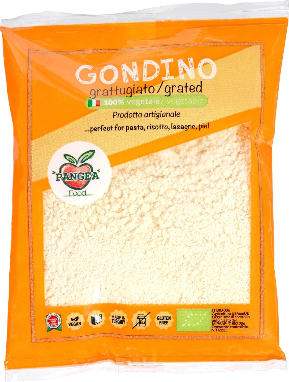Biologische Pangea Food Gondino Stagionato Rasp 75 gr
