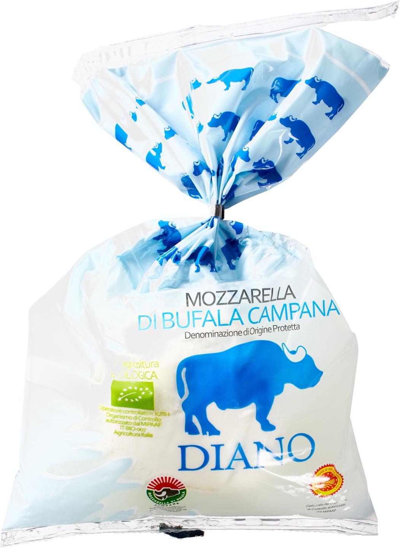 Biologische Diano Casearia Buffelmozzarella 250 gr