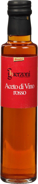 Biologische Guerzoni Rode wijnazijn 250 ml