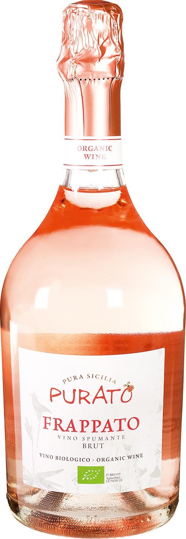 Biologische Purato Frappato spumante rosé 750 ml