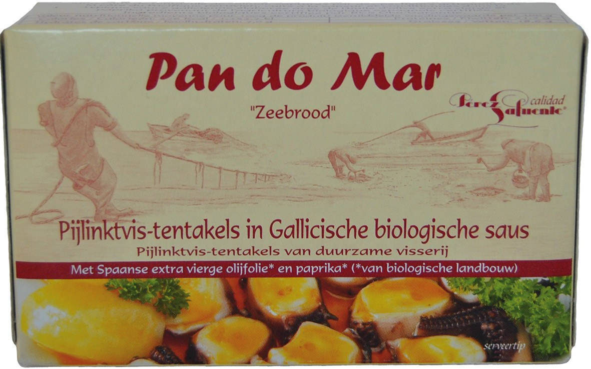 Biologische Pan do Mar Octopus in Gallicische saus 120 gr