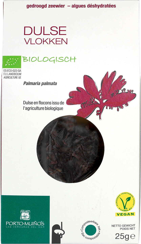 Biologische Porto Muinos Dulse vlokken 25 g