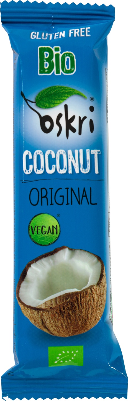 Biologische Oskri Coconut original bar 53 gr