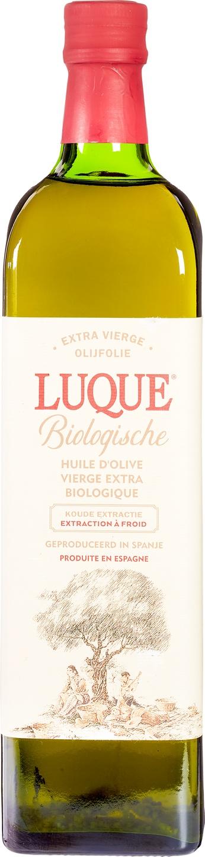 Biologische Luque Olijfolie extra vierge Spaans 1 L