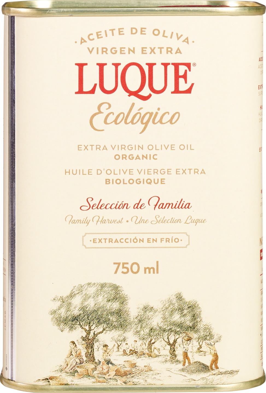Biologische Luque Olijfolie extra vierge Spaans 750 ml