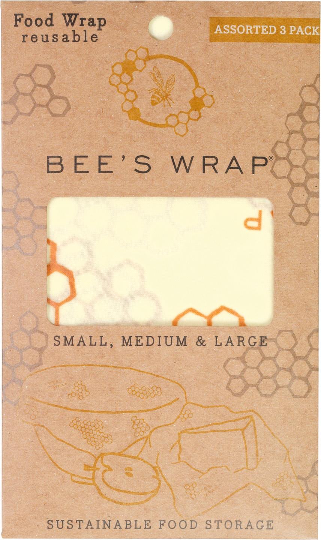Biologische Bee's Wrap Bee's Wrap 3-pack 3 st
