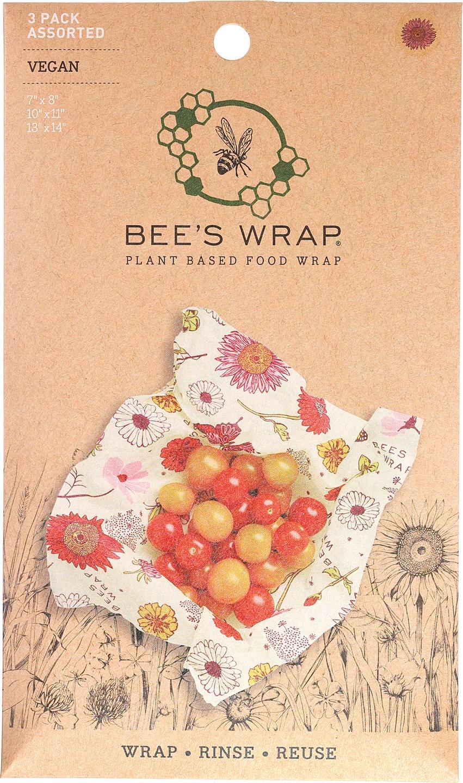 Biologische Bee's Wrap Assorted 3 pack vegan 3 st