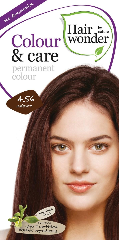 Biologische Hairwonder Colour & Care Auburn 4.56 100 ml