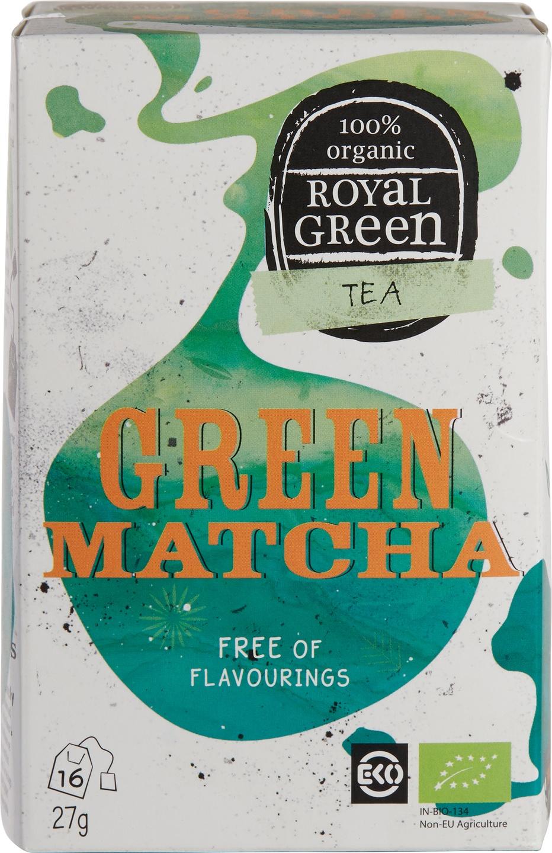 Biologische Royal Green Groene thee matcha 16 st