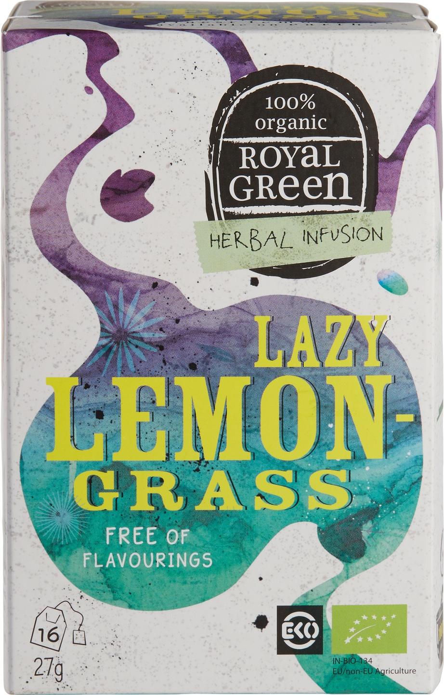Biologische Royal Green Kruidenthee citroengras 16 st