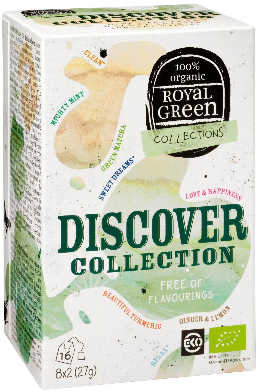 Biologische Royal Green Kruidenthee mixdoos 16 st