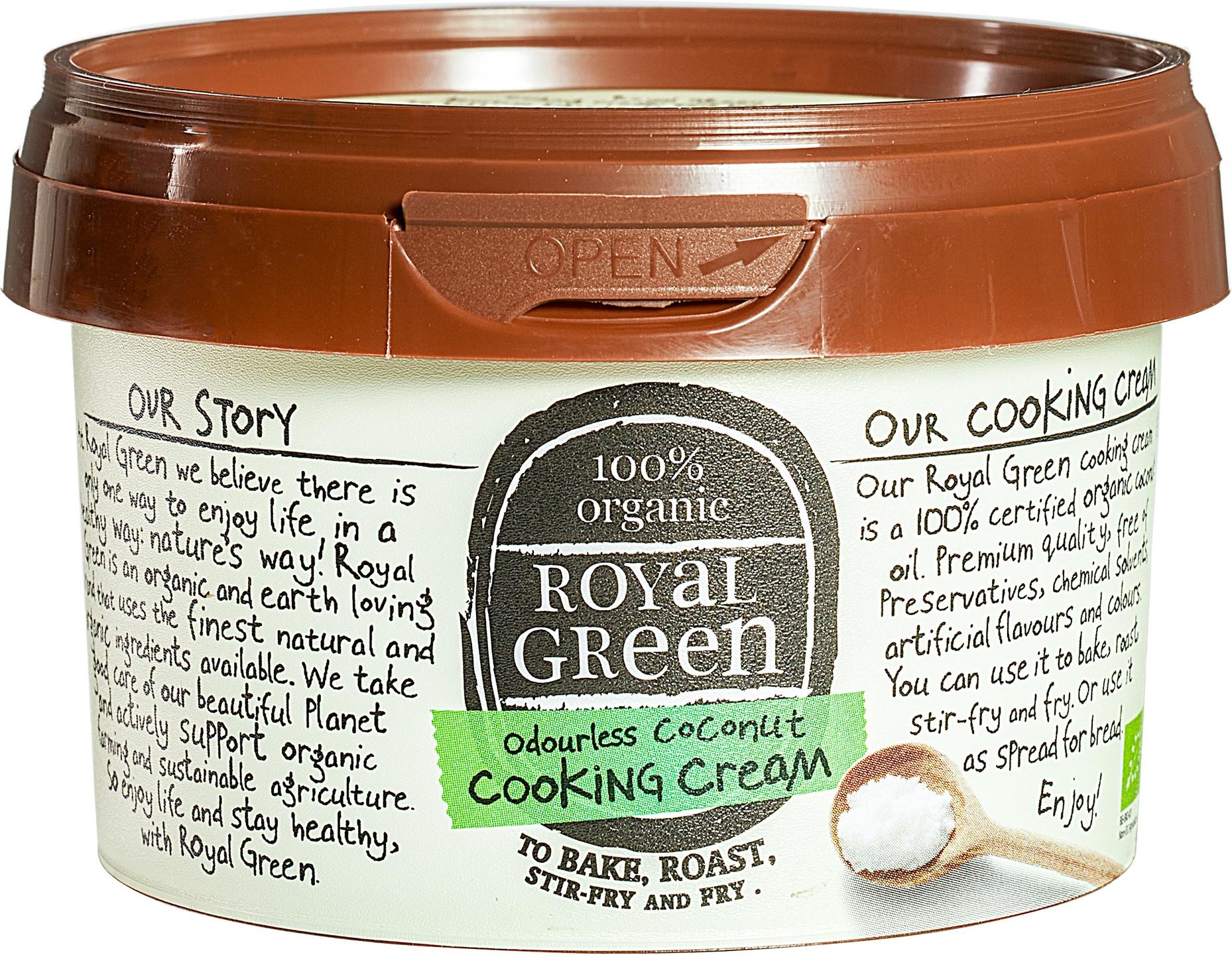 Biologische Royal Green Kokosolie geurloos 250 ml