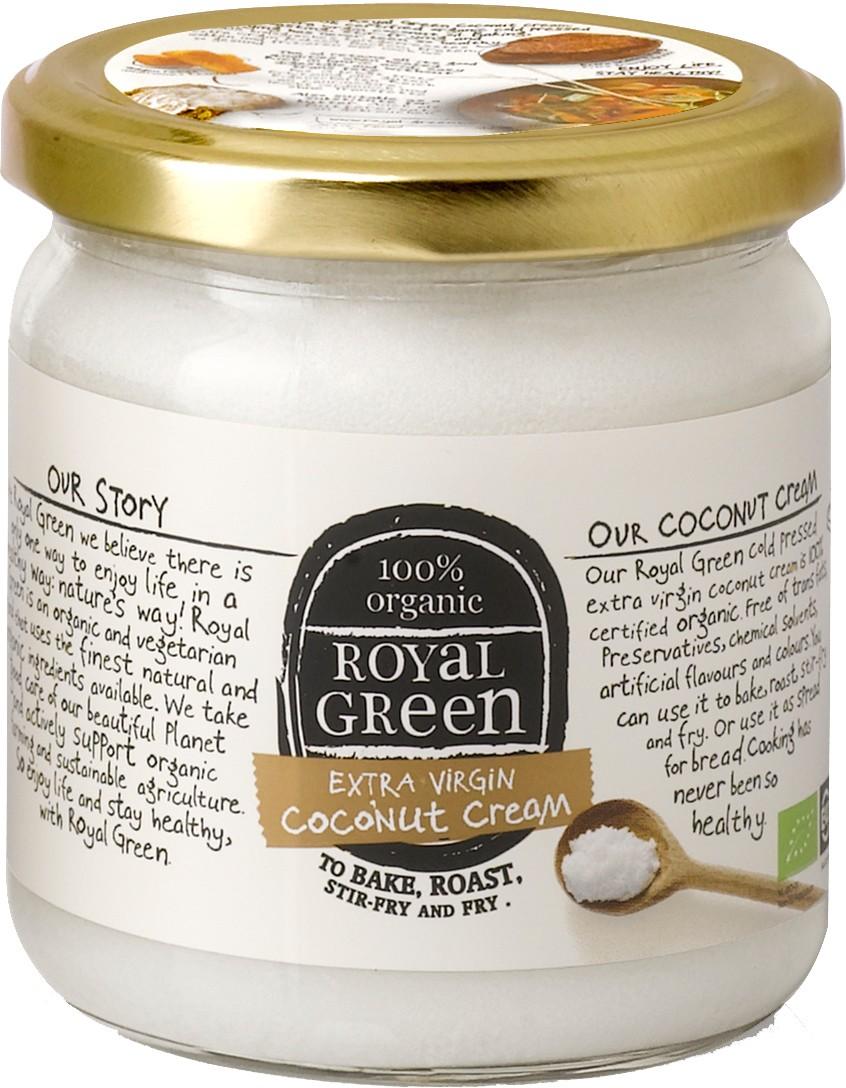 Biologische Royal Green Kokosolie extra virgin 325 ml