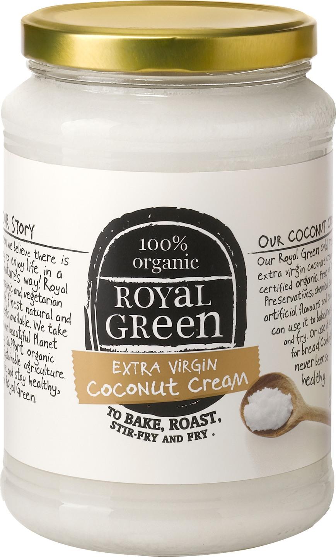 Biologische Royal Green Kokosolie extra virgin 1.40 L