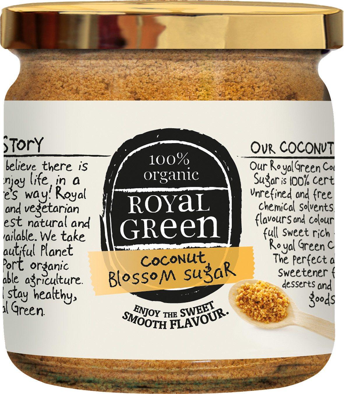 Biologische Royal Green Kokosbloesemsuiker 200 gr