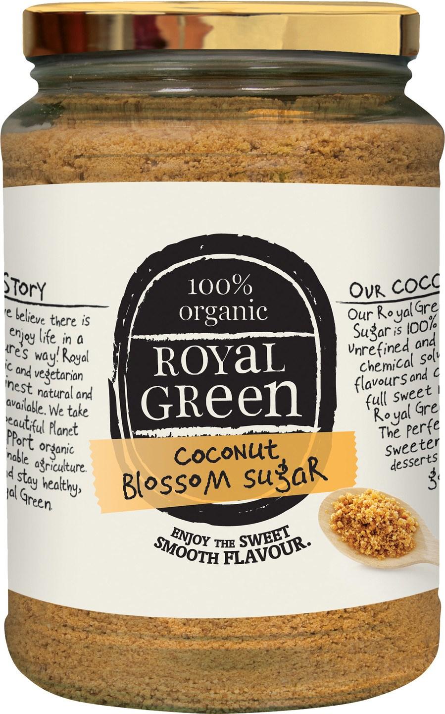 Biologische Royal Green Kokosbloesemsuiker 900 gr