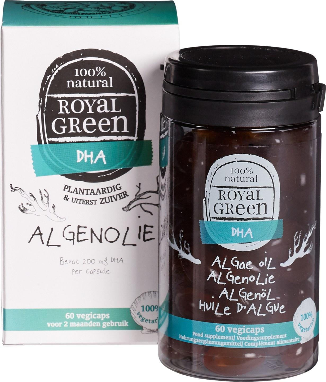 Biologische Royal Green Algenolie 60 st