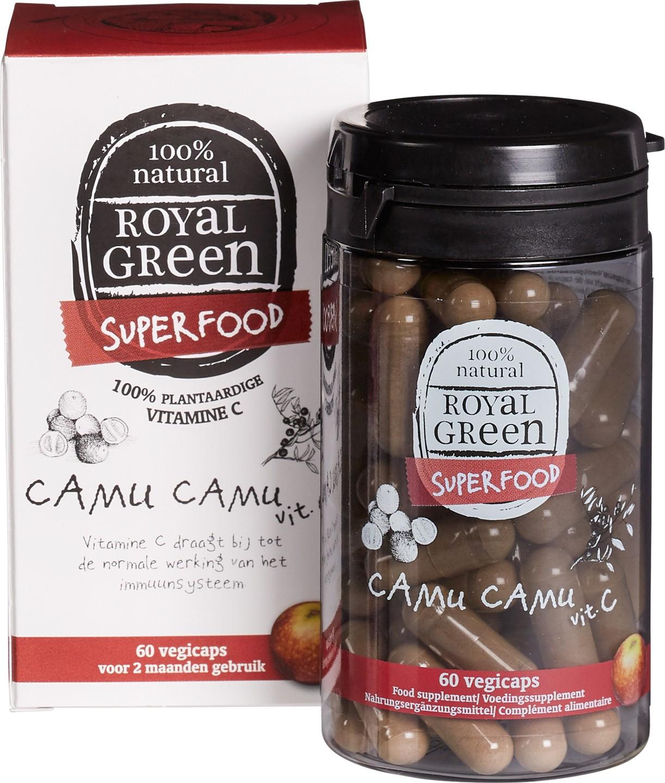 Biologische Royal Green Royal Green Camu Camu Vitamine C 60 st