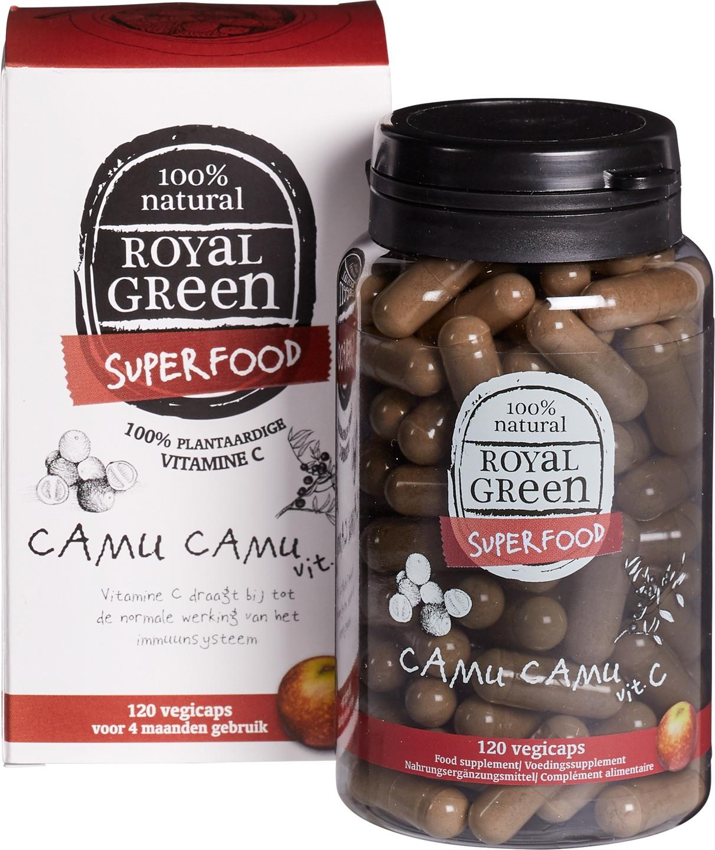 Biologische Royal Green Camu camu vitamine C 120 st