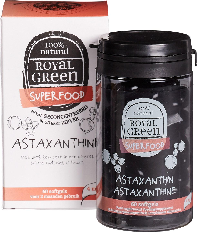 Biologische Royal Green Astaxanthine 60 st