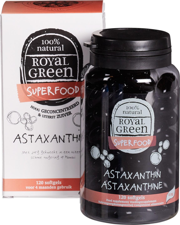 Biologische Royal Green Astaxanthine 120 st