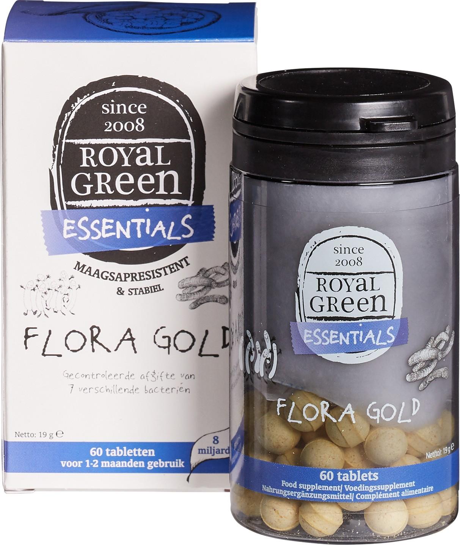 Biologische Royal Green Flora Gold 60 st