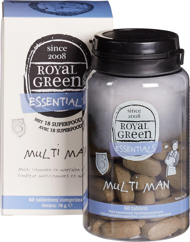 Biologische Royal Green Multivitamine man 60 st