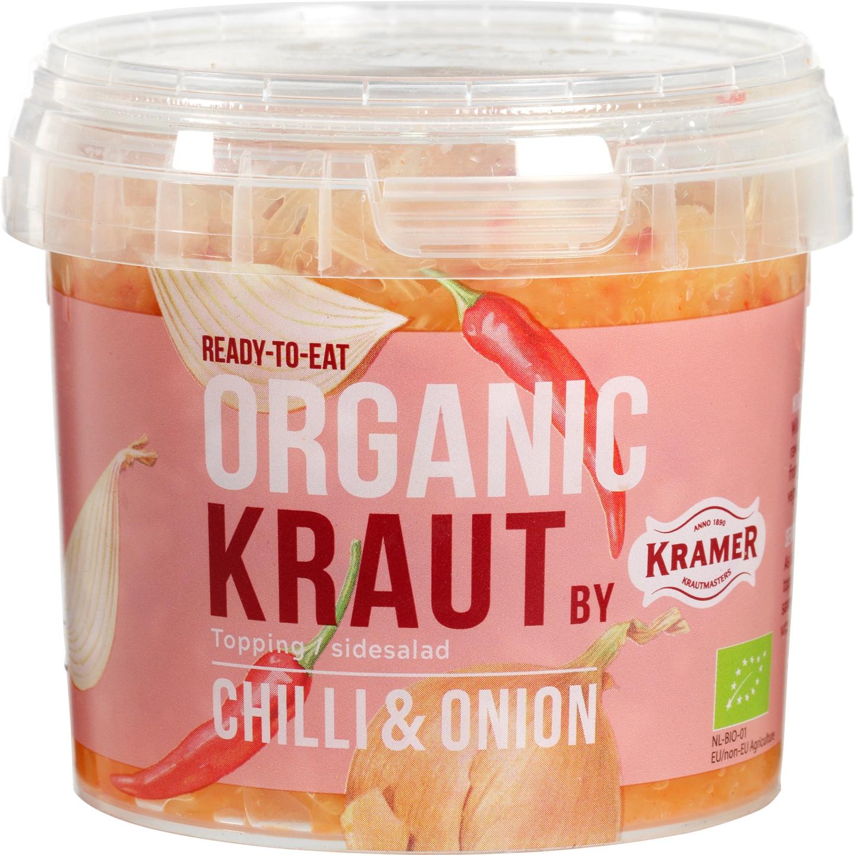 Biologische Kramer Gefermenteerde kool chili/ui 300 gr