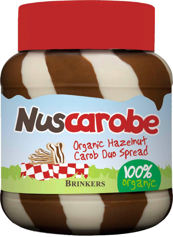 Biologische Brinkers Nuscarobe soja & hazelnoot duo 400 gr