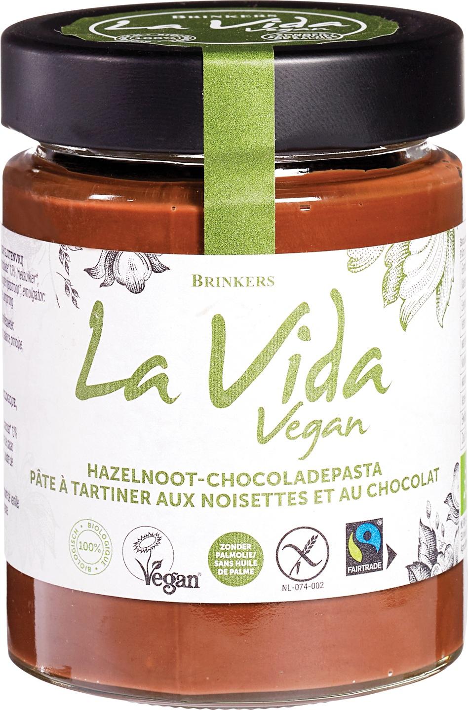 Biologische La Vida Vegan Hazelnootpasta 270 gr