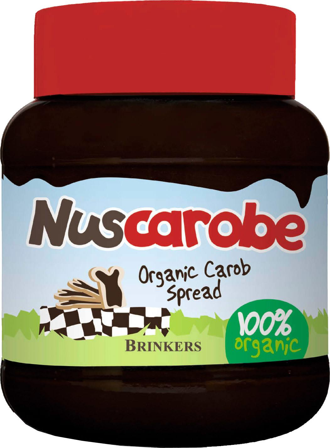 Biologische Brinkers Nuscarobe carobe 400 gr