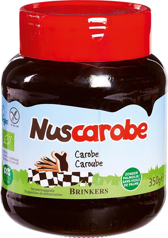 Biologische Brinkers Nuscarobe carobe 350 gr