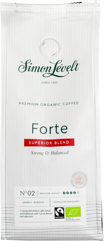 Biologische Simon Lévelt Snelfiltermaling sterk & balance Forte 250 gr