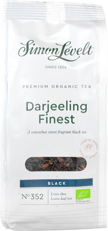 Biologische Simon Lévelt Darjeeling Finest thee 90 gr