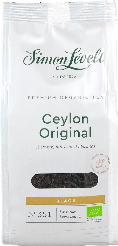 Biologische Simon Lévelt Ceylon Original thee 90 gr