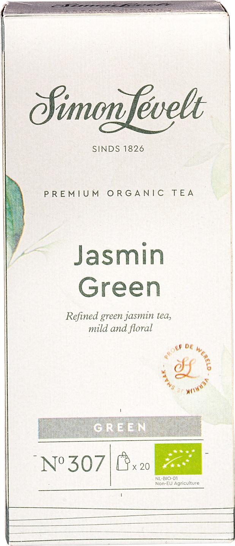 Biologische Simon Lévelt Groene thee jasmijn 20 builtjes