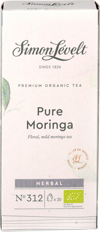 Biologische Simon Lévelt Kruidenthee moringa 35 gr