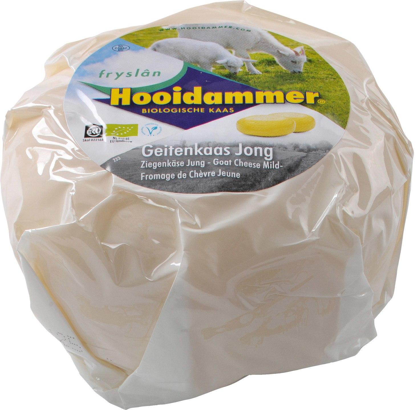 Biologische Hooidammer Baby geitenkaas 50+ 400 gr