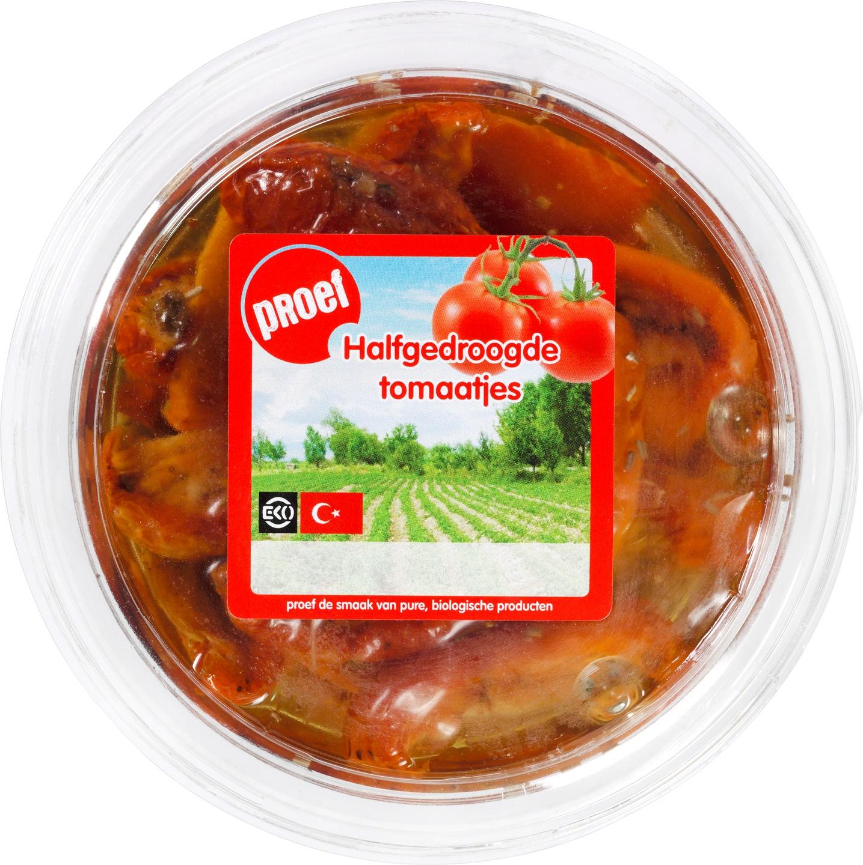 Biologische Proef Halfgedroogde tomaatjes 200 gr
