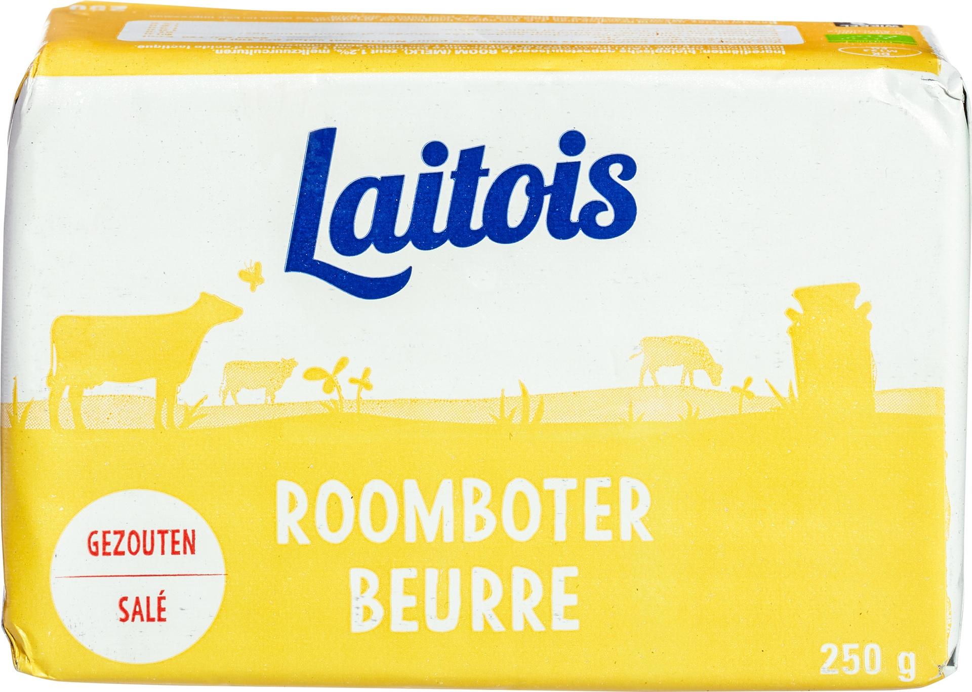 Biologische Proef Roomboter gezouten 250 gr