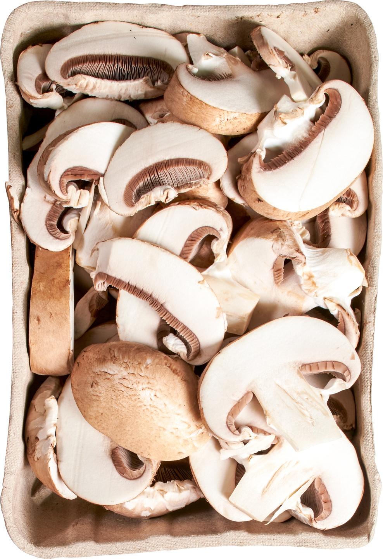 Biologische Puur NL Gesneden kastanjechampignons 250 gr