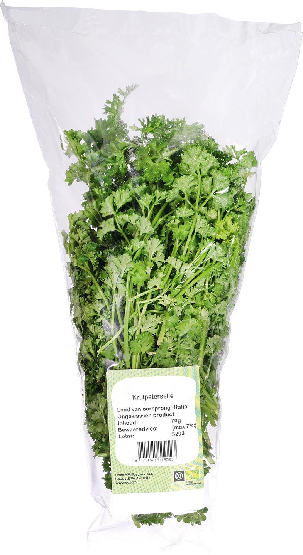 Biologische Ekoplaza Krulpeterselie 70 gr