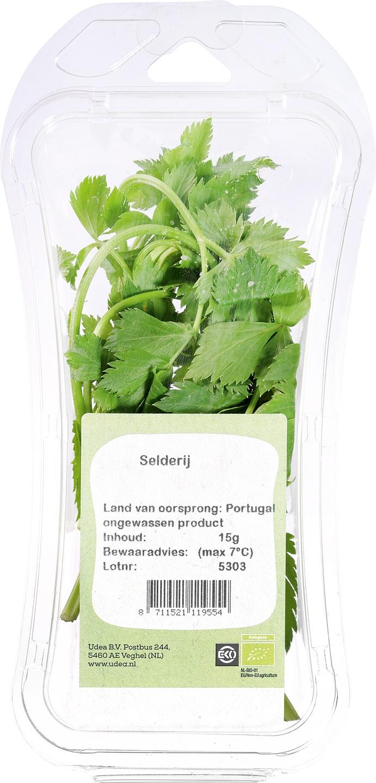 Biologische Ekoplaza Selderij 15 gr
