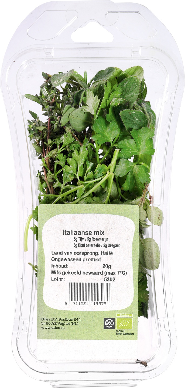 Biologische Ekoplaza Italiaanse mix 15 gr