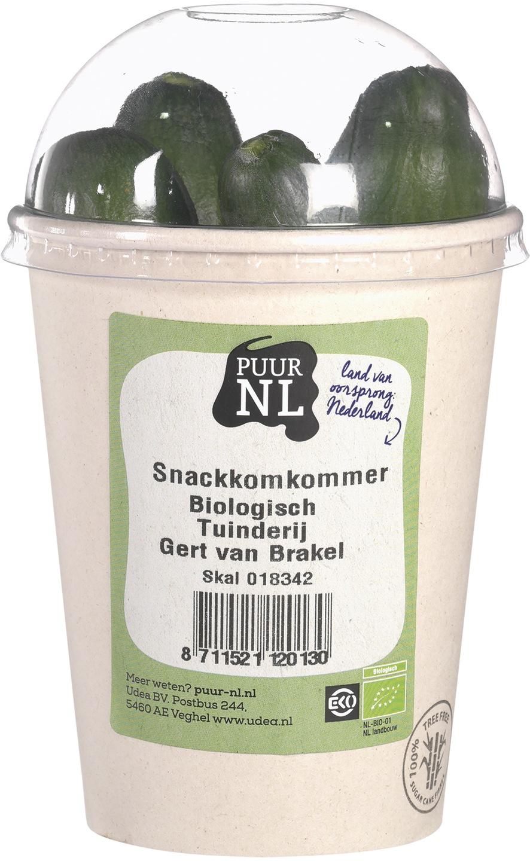 Biologische Puur NL Snack komkommers 1 st