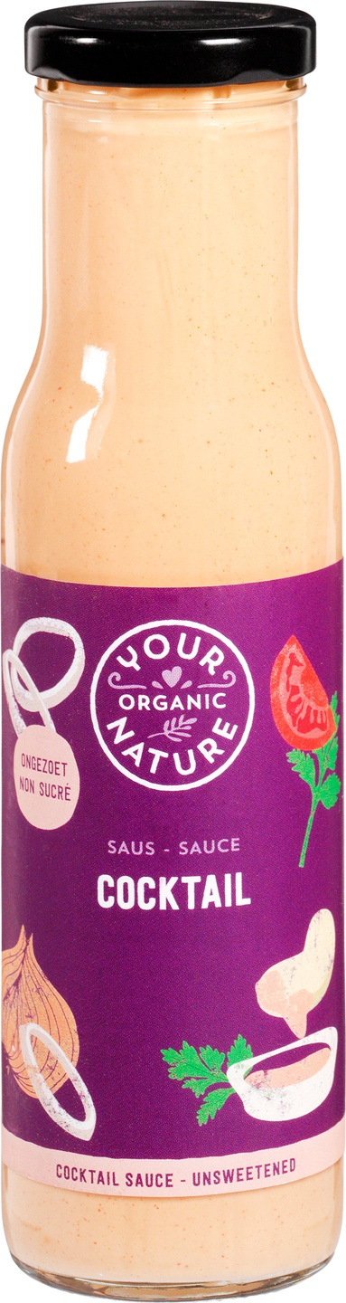 Biologische Your Organic Nature Cocktail saus 250 ml
