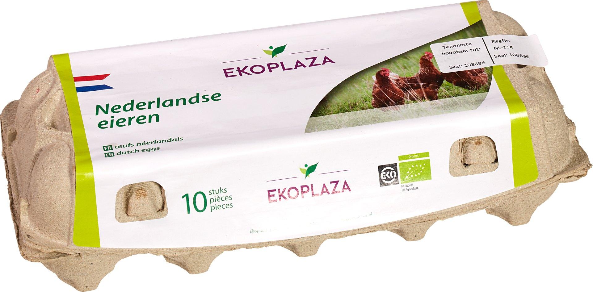 Biologische Ekoplaza Eieren 10 st